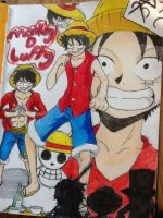 Monkey d luffy by SuperBluePanda
