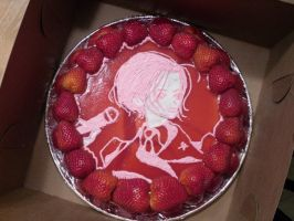 Nana Strawberry Cheesecake by MonnieMoero