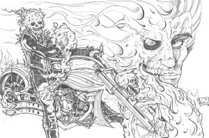 ghost rider by paulabstruse