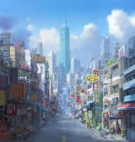 Taipei by Risesun42770973