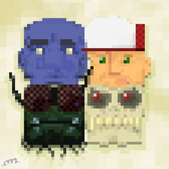 8-bit Heads by protoPrimus