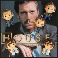 Chibi-Charms: House M.D. by MandyPandaa