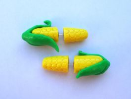 Corn on the Cob Fake Gauge by cashewed-almonds