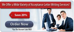 Professional Help with Acceptance Letter by Azizabdullah