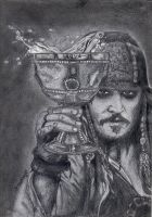 Captain Jack Sparrow by bidonka