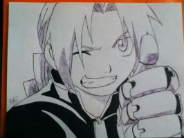 Edward Elric by Tonnie95