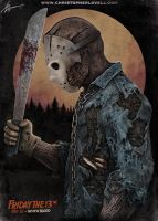 Jason Voorhees - The New Blood by Lovell-Art