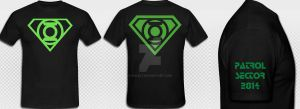 T shirt idea Front Back and Side by KalEl7