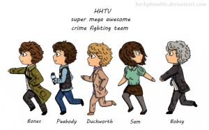HHTV super mega awesome crime fighting team! by BeckyBumble