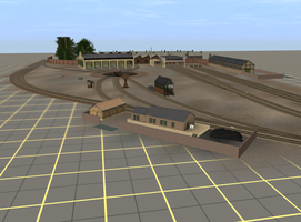 Tidmouth Sheds (03/08/15) by TheAusterityEngine