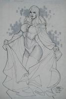 Emma Frost 2 C2E2 2010 by TerryDodson