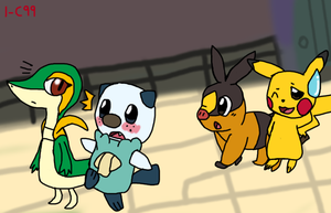 PokePark 2 - Tour in Cove Town by May-Usagi