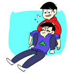 Oso and Kara by theweirdfellow