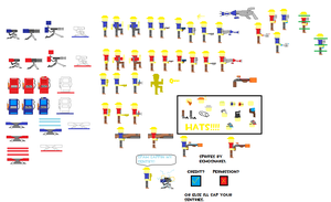 TF2 Sprites: The Engineer Pack by echosnake