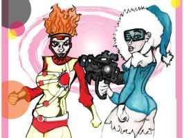 Female Firestorm Cap Cold by losman126