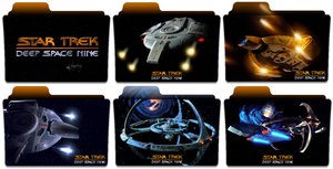 Deep Space Nine Folders by IndyV72