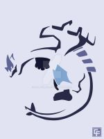 Lugia (Tribal) by calfrills