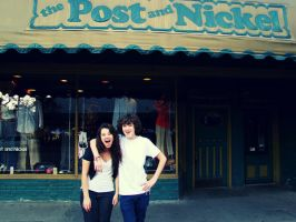 Post And Nickel by tinabob