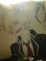 Rin Okumura Poster request by Oni-the-hedgehog