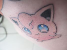 Jigglypuff Tattoo by CandaceIsVampire