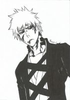 Bleach - Ichigo New Bankai by NeXusShawn