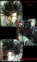 Edward Scissor Hands WIG by DarkAsylumxxx