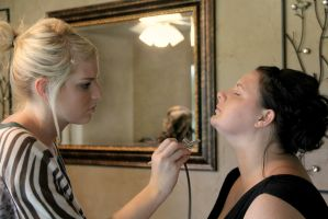 Bridesmaids Makeup-VI- by SoigneuxDesespoir