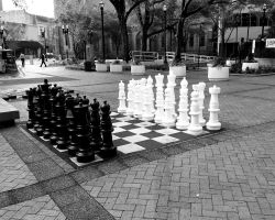 BIG game of chess by beanieindy