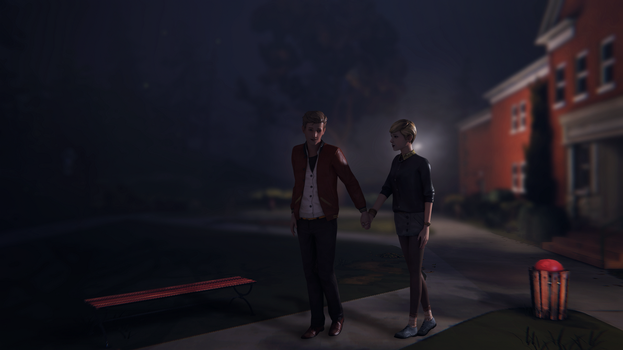 Life is strange - Nathan and Victoria by Mary-O-o