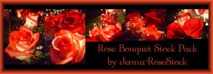 Rose Bouquet Stock Pack by Jenna-RoseStock