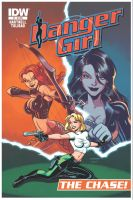 DANGER GIRL : THE CHASE cover by LostonWallace