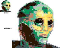 Thane Pixel Art by rebornflame