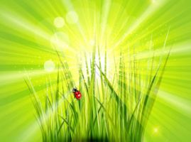 Free Green vector Background by vectorbackgrounds