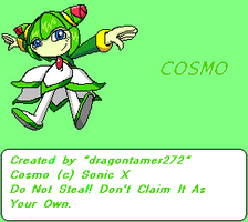 Cosmo sprite by dragontamer272