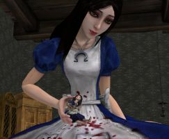 Alice's little girl literately by ILLOVEALICESOMUCH