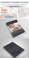 Corporate Stationery Package by dotnpix