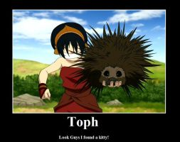 Toph poster by growler100