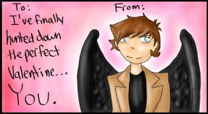 Fandombound Valentine - Supernatural by Snipperss
