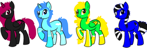 Pony Adopts ..::OPEN::.. by love-the-adopts