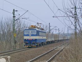 PSZ Pershing with freight by morpheus880223