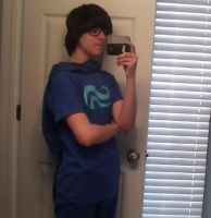 John Egbert Cosplay by Silently-Vocal