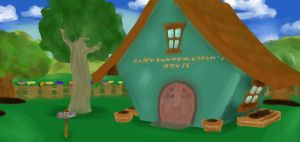 Toontown Painted Scene by Sarawr34