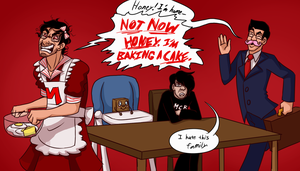 Angry Housewife Markiplier by kiotsukatanna