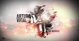 Arturo Vidal - The Warrior! by Nucleo1991