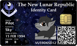 New Lunar Republic ID - Pilot Sky by Aapur