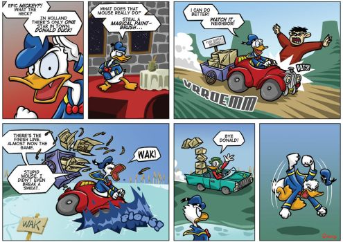 NGamer 13: Epic Donald by captainaugust