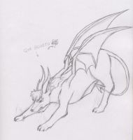 Hellhound Pose by Alvarov90