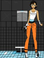 Chell by Wafflepal