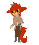 here have a chbi foxy by FlameGirl023