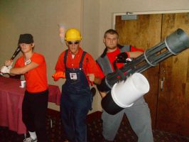 Persacon 2009 - Team Fortress by foreverwhiteknight